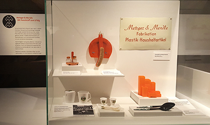 Metzger & Mendle in the exhibition of the Folklore Museum Oberschönenfeld