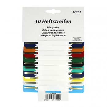 10 PP file fastener with plastic cover